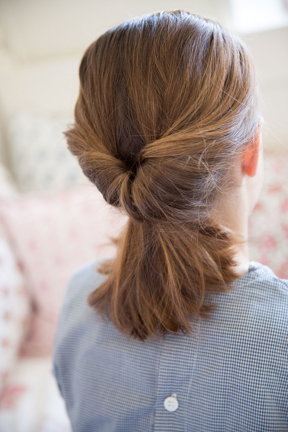 Hair style the low flip ponytail Babyccino Kids Daily