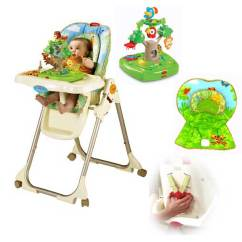 Rainforest High Chair Cover Rentals In Memphis Tn Fisher Price Review Entertaining And Easy To
