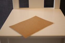 du papier en carton fin