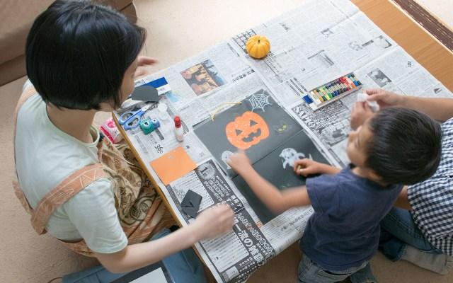【おてんきの絵本を作ろう!】絵と工作のワークショップ×親子カフェ