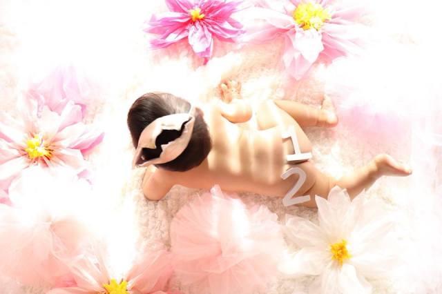 【一生の思い出づくりに!】ベビーヌードor授乳フォト撮影体験×親子カフェ