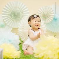 【新緑バージョンの背景で!】季節の親子撮影体験