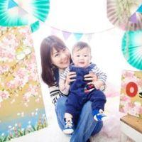 【春は桜の背景で!】季節の親子撮影会