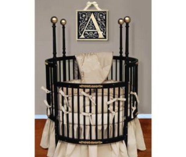 Baby Doll Round Baby Crib Bedding