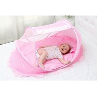 Bersun Travel Crib ,Baby Tent, Baby Bed ,Instant Pop Up ...