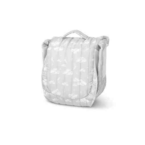 Snuggle Nest™ Harmony Portable Infant Sleeper – Silver Clouds