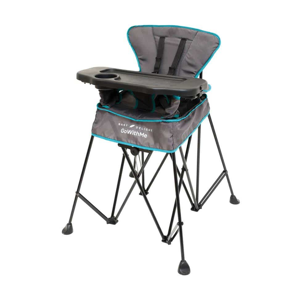Chair High Chair Go With Me Uplift Portable High Chair