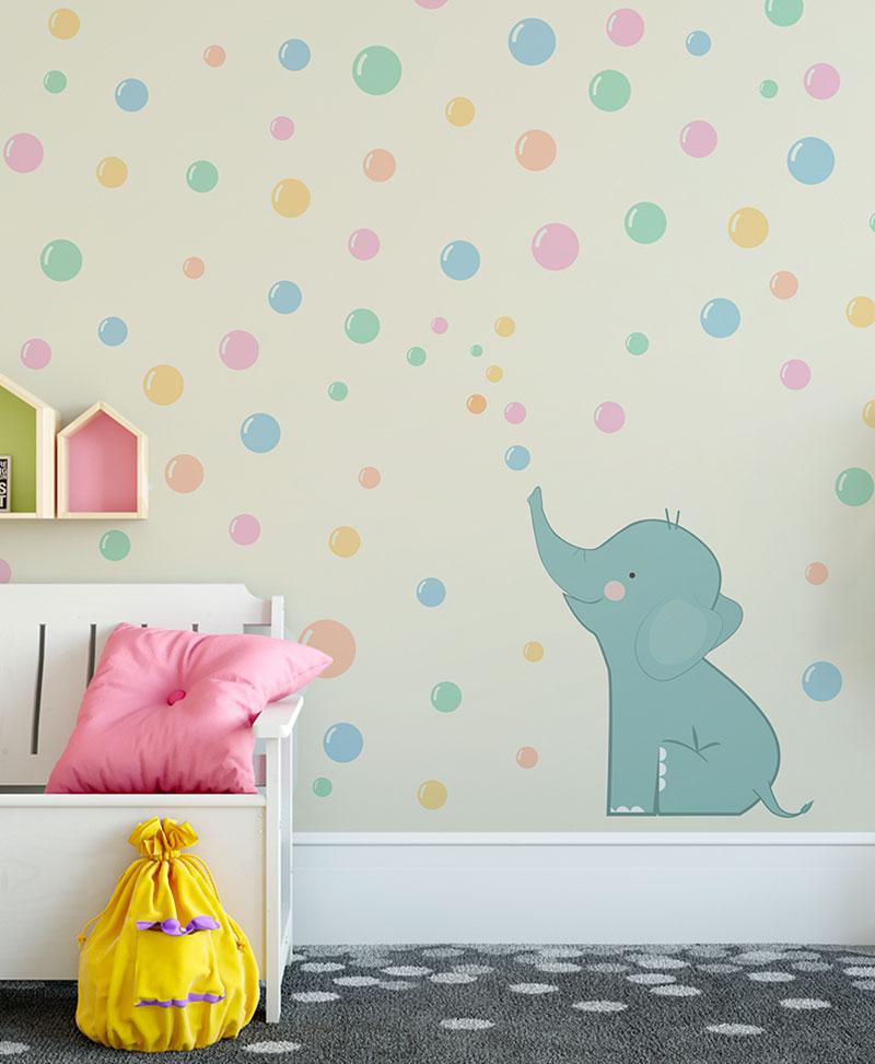 Nel caso che tu stia cercando un bellissimo interno moderno, o semplicemente non avessi voglia di dipingere le mura tutto il tempo, una carta da parati è un modo originale per decorare la tua camera da letto, la parete del soggiorno o la cameretta dei bambini. Linea Carta Da Parati Arcobaleno Rainbow Baby Design Wallpaper