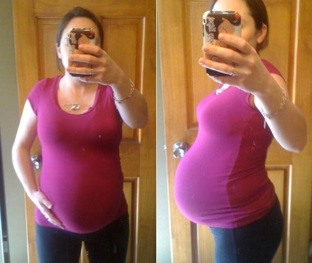 Pregnant Belly One Month - Blackmores Pregnancy