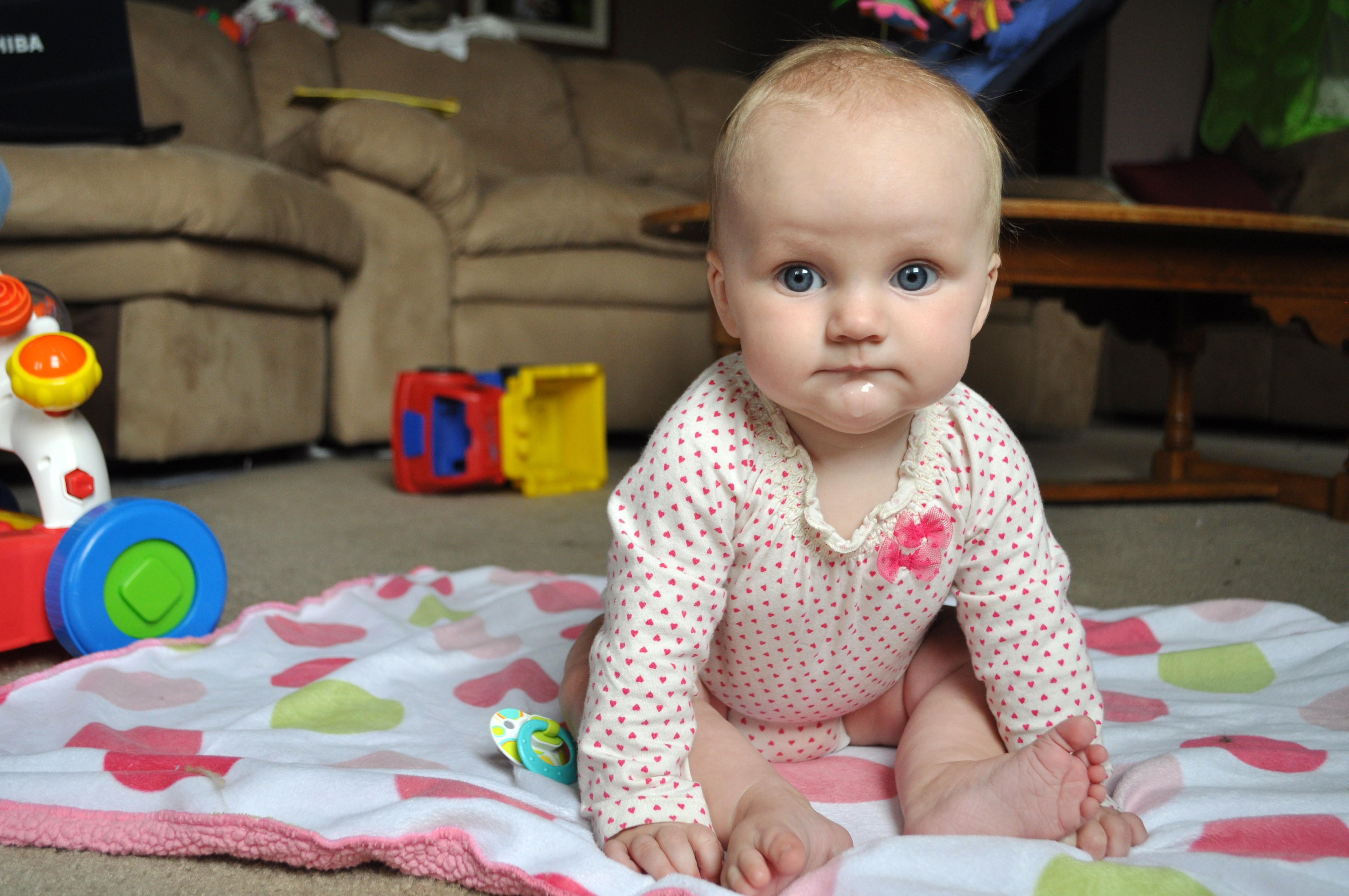 A Sweet 7 Months Baby Girl