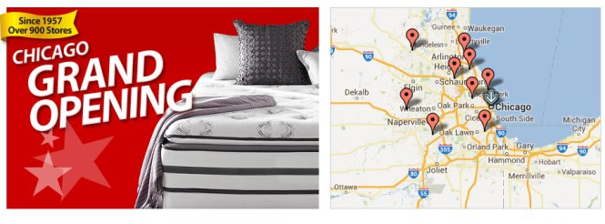 There Are 10 New Locations Opening In The Chicago Area You Can Check Them All Out Here And Find One Closest To As Mattress Professionals