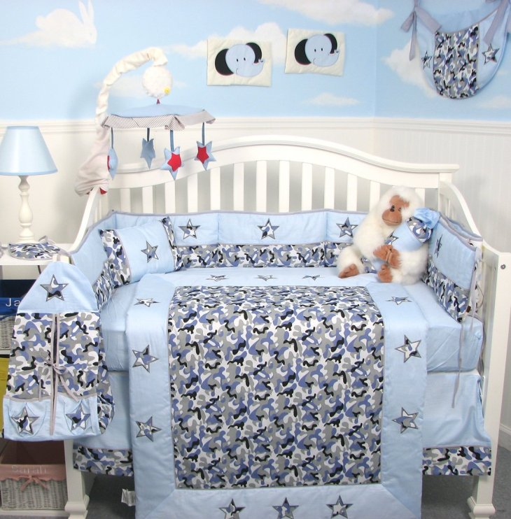 21 inspiring ideas for creating a unique crib with custom baby bedding babydotdot baby guide - Modern baby bedding sets ...