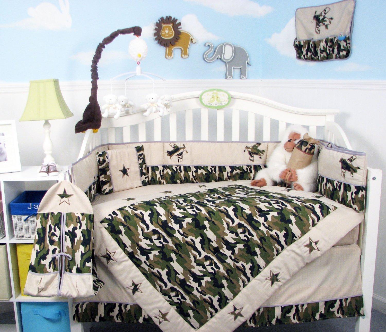Camo Baby Bed Sets