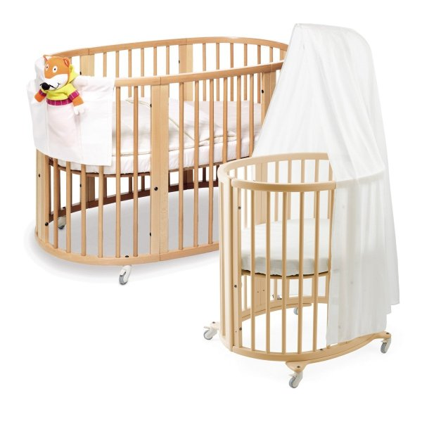 Crib 17 Adorable Nursery Design With Circular Babydotdot