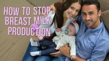 how to stop breast milk production