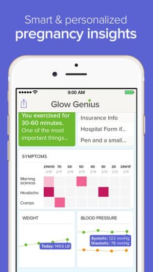 glow-pregnancy-app