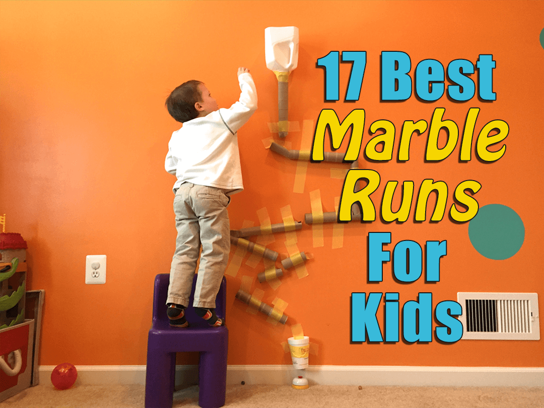 17 of the best marble runs for 4