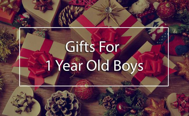 The Top 5 Best Gifts For 1 Year Old Boys Unique First