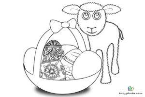 Osterlamm Malvorlage   Food Ideas