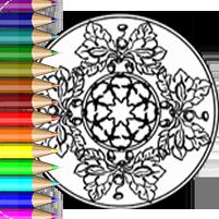 Herbst Mandala - Ausmalbilder und Malvorlagen 🍂 BabyDuda