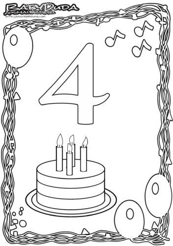 Geburtstag Schrift Malvorlage Coloring and Malvorlagan