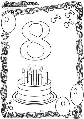 Happy Birthday Malvorlage Joy Studio Design Gallery