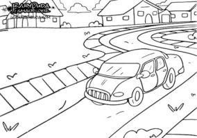 Ausmalbilder Auto & Malvorlagen für Kinder   BabyDuda ...