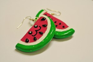 baby-ear-piercing-watermelon-earrings-flickr