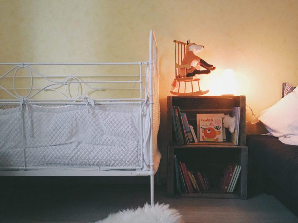 Waouw. (Et grosse fessée de Maria pour le lit à barreaux en hauteur, mais que veux-tu, il est trop magnifique.)