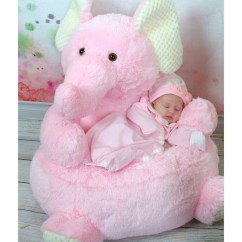 Stuffed Animal Chair Office Sinking Stephan Baby Dse7 Girl Bedroom Plush Pink