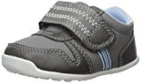 Carter's Every Step Boys' Stage 3 Walk, Jamison-WB Sneaker, Grey, 5.0 M US (12-18 Months)