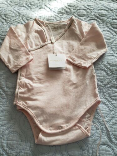 New Burberry Baby Girls Body Sz 3-6 M