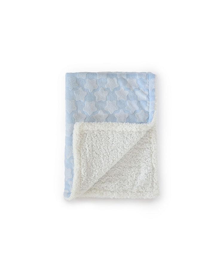 Couverture  Estrellas 100% polyester Bleu 110*140 cm
