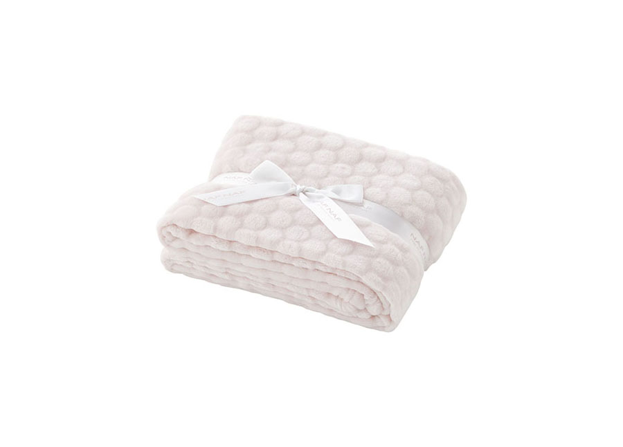 Couverture Nube 100% Polyester Rose 80*110cm