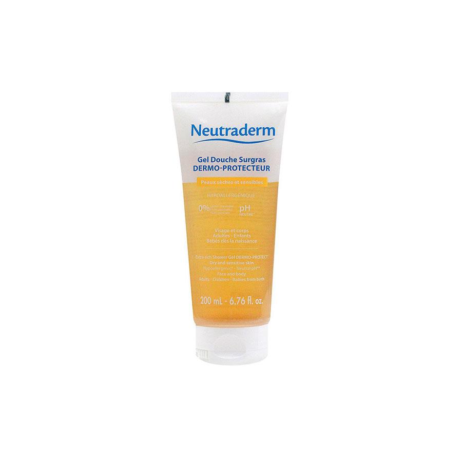 Gel douche Surgras dermo- protecteur peaux sèches et sensibles 200 ml