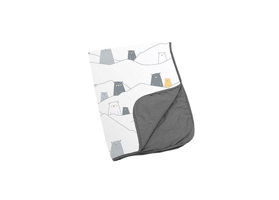 Couverture dream bear grey 75×100