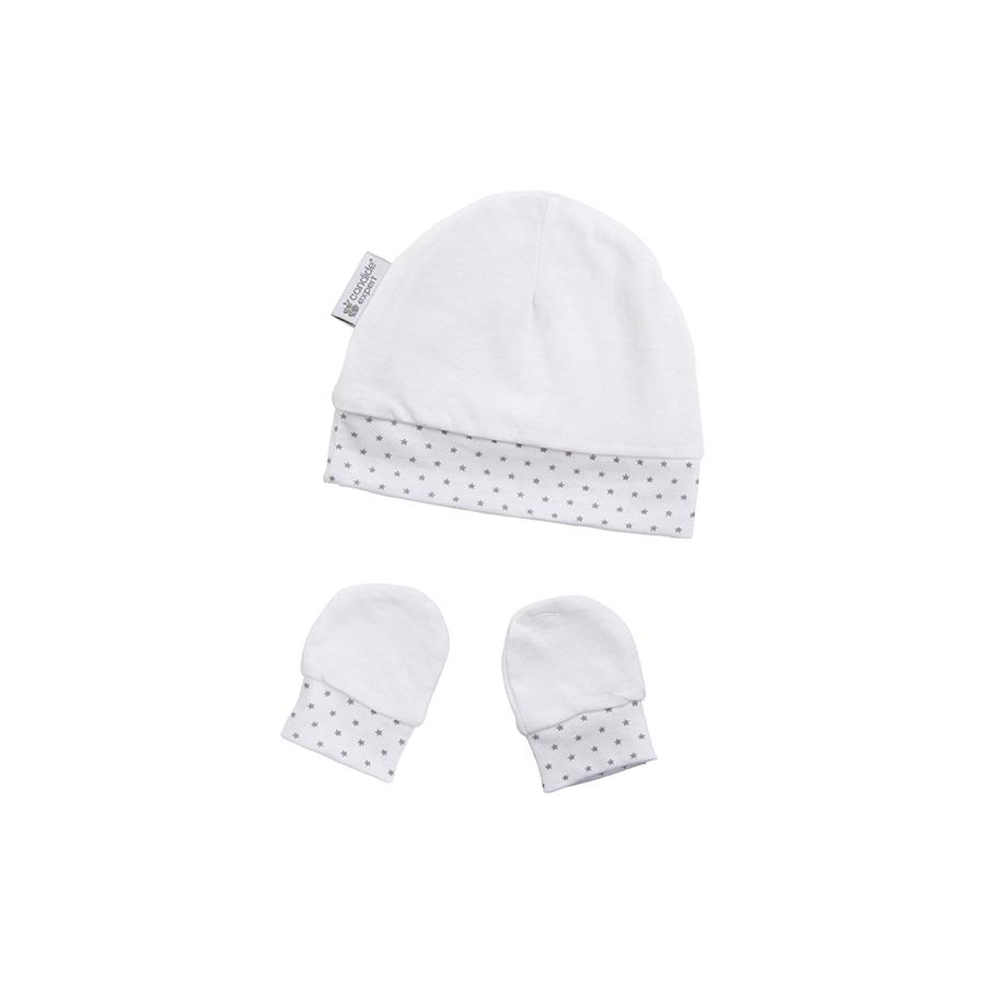 Bonnet & moufles naissance