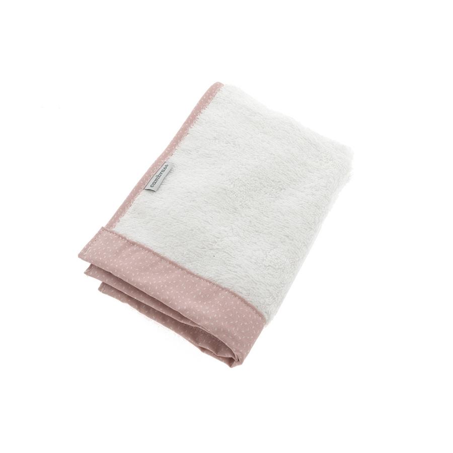 Coffret 2 serviettes de bain sky rose/pluie 25×35 cm