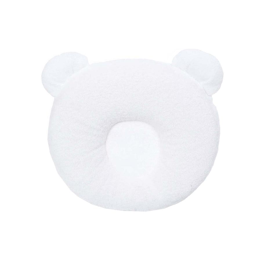 Coussin cale tête bébé P'tit Panda Blanc