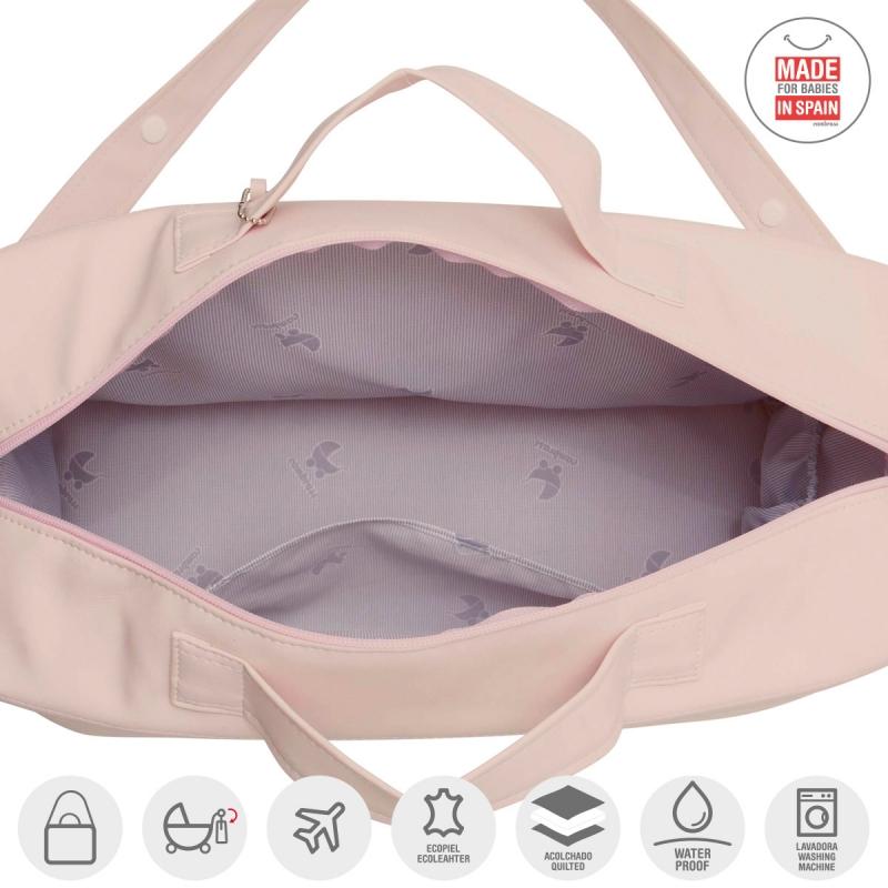 Ensemble de sac de maternité Tabela Astra beige, trousse et tapis de change