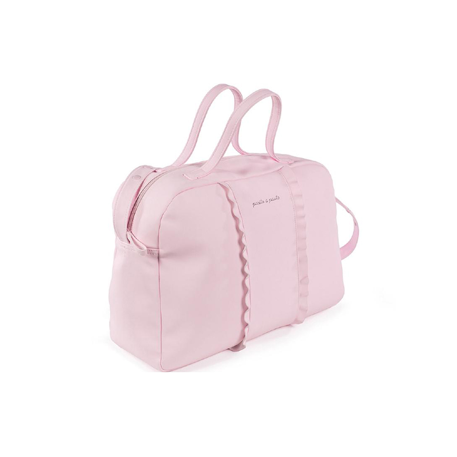 Valise de maternité nido volante rose