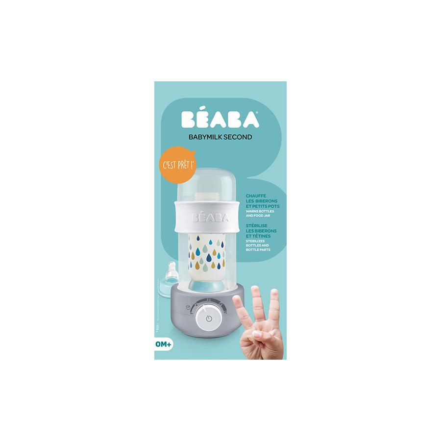 Chauffe biberon Babymilk Second gris Beaba