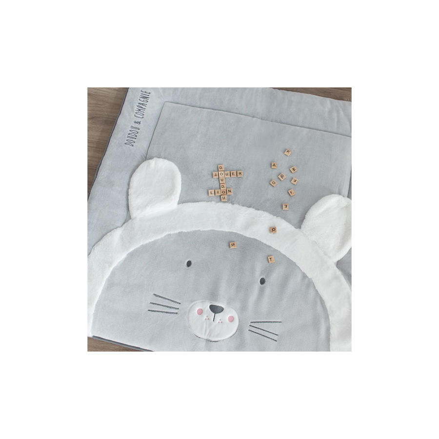 Tapidou – Lion – 100 x 100 cm