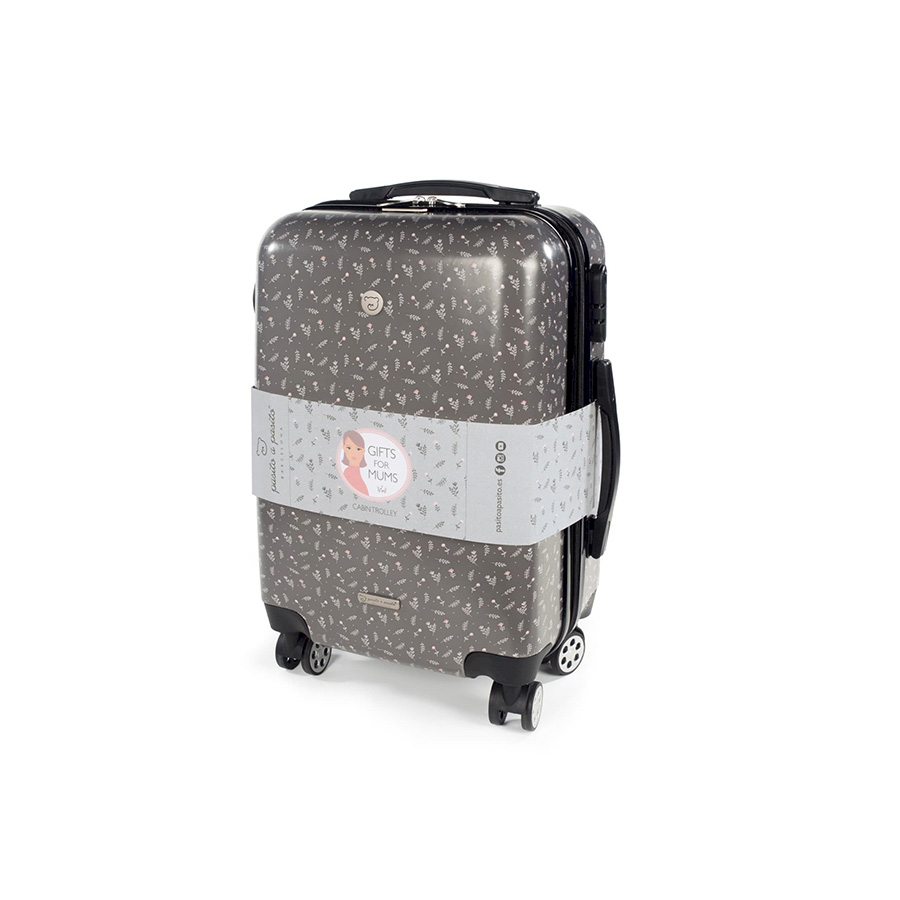 Valise Trolley Fleur – Gift for Mums