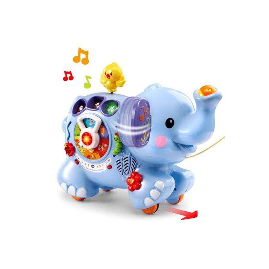 Trompette, mon éléphant des découvertes