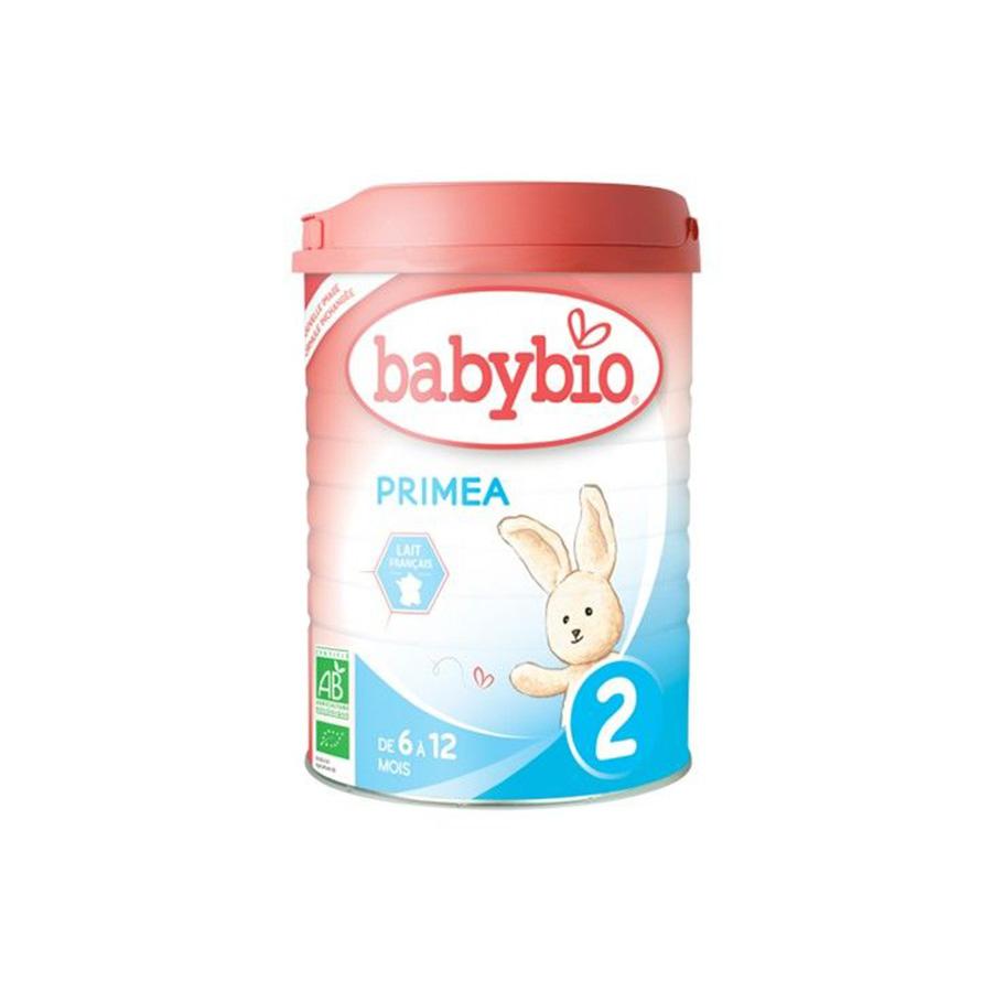 Babybio – Lait en poudre Primea 2 – 800G – (+6mois) – BIO
