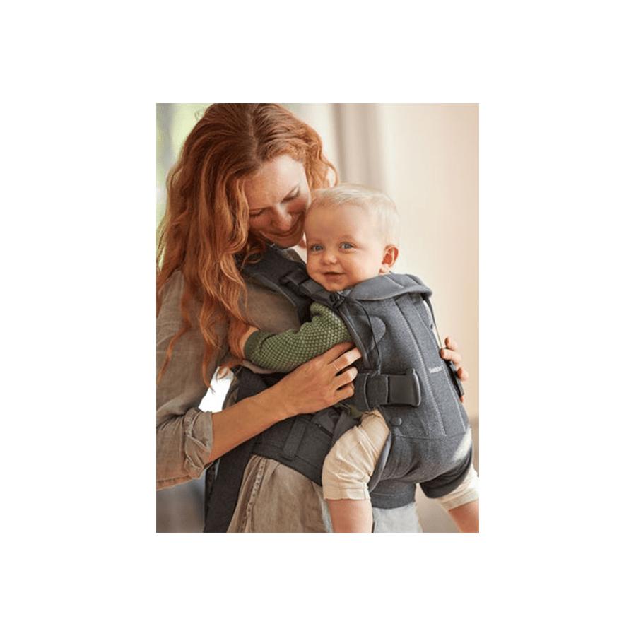 Porte-bébé One anthracite coton