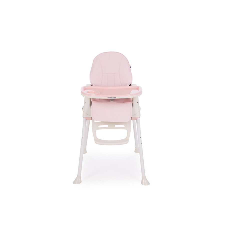 Chaise haute Creamy 2en1 Rose