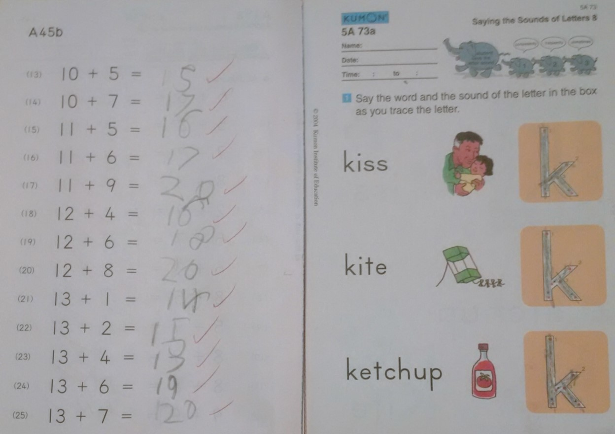 K Is For Kumon
