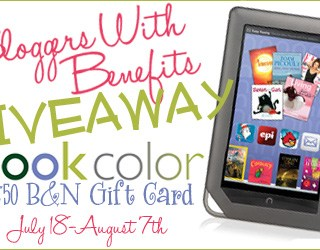 Color Nook and $50 B&N gift card giveaway!
